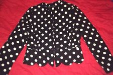 Waist Length Blazers None Spotted Coats & Jackets for Women