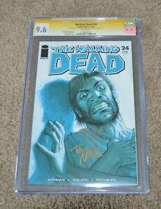 THE WALKING DEAD SIGNATURE SERIES #24  CGC 9.6 Robert Kirkman Tony Moore Comic