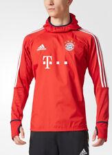 Adidas FCB Warm FC Bayern Monaco Felpa Uomo Rosso (rojfcb/bianco) XL