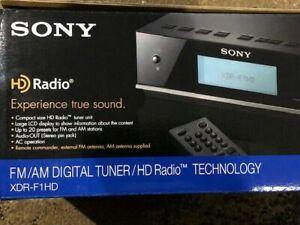 Sony HD Radio Model XDR-F1HD AM/FM Digital Tuner BRAND NEW