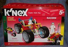 K'Nex Racers Building Set 20+ Models Building Set 411 Pieces
