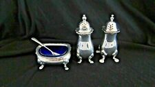 Vintage Mappin & Webb Sheffield Silver Plated Muffineer Set
