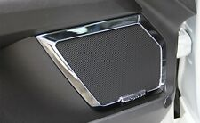 Chrome Front Rear Door Speaker Frame Cover For Ford Fusion Mondeo 2015 2013-2014