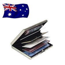 RFID Blocking Aluminum Slim Wallet ID Credit Card Holder Case Money Clip