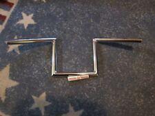 "7"" Z-Bars 1"" Handlebars Harley Sportster Knucklehead Panhead Shovelhead"