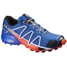 Salomon L38313200-090 Men's Speedcross 4 Trail Running Shoes, 9 M US