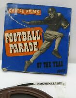 Vintage Castle Films 8mm Film Football Parade of the Year 1948 (Used)