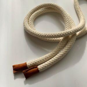 Twisted Rope Belt, Belt + leather detail, Stylish belt, Size: 175 cm