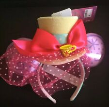 Disney Minnie Mouse The Main Attraction March Ear Headband Mad Tea Party IN HAND