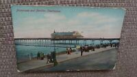 Promenade and Pavilion, Cleethorpes Postcard