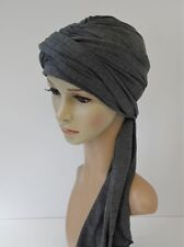 Women's stretchy turban, full turban hat, chemo head wear, full head covering