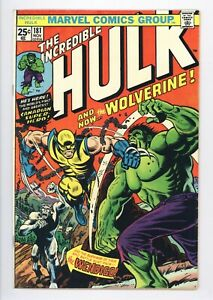 Incredible Hulk #181 Vol 1 Almost PERFECT High Grade 1st Wolverine with MVS