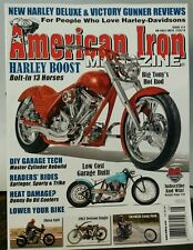 AMERICAN IRON Harleys Chica Choppers Iverson #312 June July 2014 FREE SHIPPING