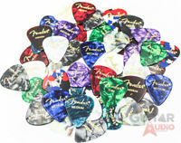 Fender Guitar Picks 351 Celluloid Sampler Variety 48-PACK (Thin, Med & Heavy)