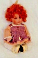 Baby Doll Completely Porcelain 8 inches tall