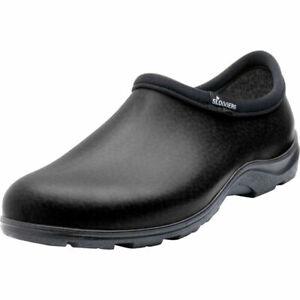 Sloggers #5301BK10 Black Men's Waterproof Garden & Rain Shoes - SIZE US10
