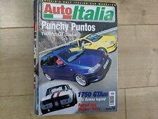 Auto Italia Magazine - November 1999 - 190bhp Punto Gt Turbo, Alfa Romeo 1750