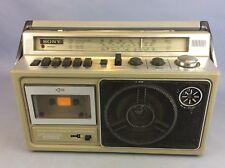 Retro Sony CFM-23L FM/MW/LW/SW Radio Cassette Recorder vintage