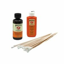 Gun Bore Cleaner and Lubricating Oil with 25 Cotton Cleaning Swabs Wood Handles