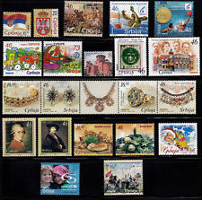 Serbia 2006 (30.06.-31.12.2006) complete issues commemorative and definitive MNH