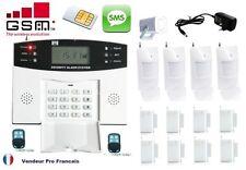 Alarme Maison Sans Fil GSM SMS/Appel Automatique Fonction Temporisation 4 - 8