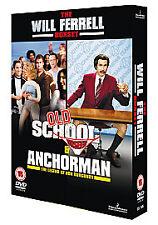 Old School / Anchor Man-DVD-2 DISC SET-BRAND NEW SEALED