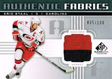 11-12 SP Game Used Authentic Fabrics xx/100 Made! Eric STAAL