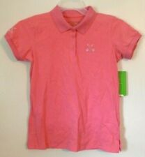 Allyson Whitmore~Pink Cotton Golf Shirt~Athletic Wear~Petite Womens size S~NWT~