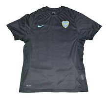Boca Junior Training shirt Nike L Blue Argentina  short sleeves CABJ