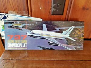 AURORA 1:72 BOEING 737 SHORT RANGE COMMERCIAL JET  MODEL KIT (OPEN BOX)