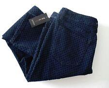 Style&Co.Womens Flocked Dot Skinny Jeans Indigo Sz 10 - NWT