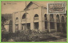 French Equatorial Africa - 1c ovpt on postcard