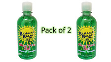 Bahama Balm 16 oz Aloe Vera Gel After Sun Skin Care Pack of 2