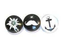 Modeschmuck-Armbänder aus Acrylglas und Metall-Legierung für Damen