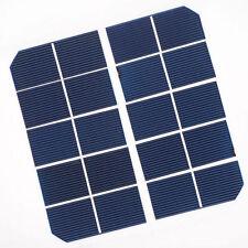 20pcs 1″x 2.5″ (65.5* 25mm) Monocrystalline Solar Cell Grade A