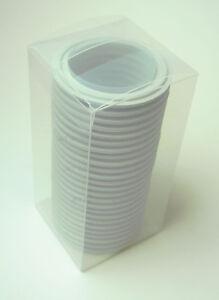 "BOX OF 25 TRI CLAMP GASKETS PTFE/TEFLON 3"" SANITARY CLASS VI"