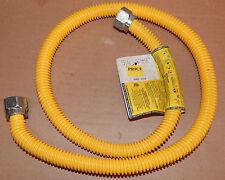 "Brass Craft Gas Connector Furnace & Boiler 48"" x 5/8"" OD x 1/2"" ID USA 86H"
