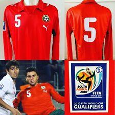 Valentin Iliev MATCH WORN Bulgaria World Cup 2010 Qualifier Away Shirt *COA*