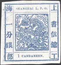 SHANGHAI, 1866. Local Post Scott 33a, 1ca, Mint