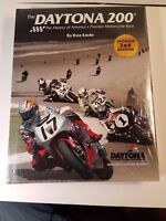 RARE DAYTONA 200 HISTORY MOTORCYCLE RACE BOOK DON EMDE NEW SIGNED SCOTT RUSSELL