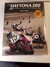 DAYTONA 200 HISTORY AMERICAS PREMIER MOTORCYCLE RACE BOOK DON EMDE NEW WRAPPED