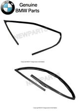 For BMW E36 318i 325i Pair Set of Front Left & Right Window Channel Seal Genuine