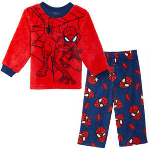 NWT Marvel Spider-man Kids Boy Girl Pajamas Pants Shirt 3T 5 6 Spiderman