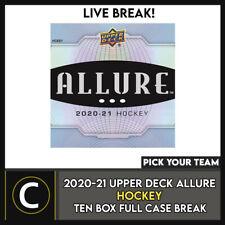 2020-21 UPPER DECK очарование 10 коробка (полный чехол) перерыв #H1275 — выбирайте свою команду -