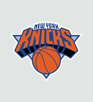 New York NY Knicks NBA Basketball Color Logo Sports Decal Sticker-Free Shipping