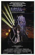 KRULL ORIGINAL MINT FOLDED SCIENCE FICTION ONE SHEET 27X41 MOVIE POSTER 1983
