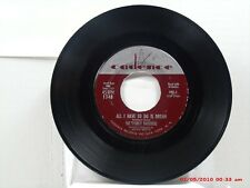 THE EVERLY BROTHERS -(45)- ALL I HAVE TO DO IS DREAM / CLAUDETTE - CADENCE- 1958