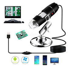 1600x 10mp Usb Digital Microscope Camera Endoscope Magnifier With Stand Biological