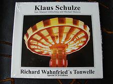 Slip Double: Klaus Schulze : Richard Wahnfried's Tonwelle  2 CDs Schrieve Sealed