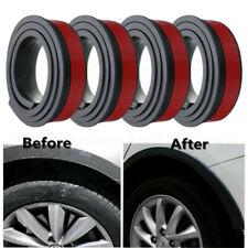 4X 1.5m Rubber Car Flexible Wheel Arch Protector Moldings Mudguard Door DIY Trim